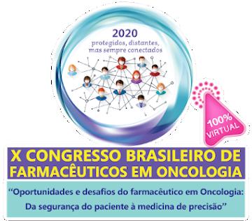 X CONGRESSO BRASILEIRO DE FARMACÊUTICOS EM ONCOLOGIA – SOBRAFO 2020